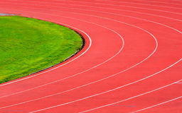 De Steegaantallen van het atletiekspoor Royalty-vrije Stock Foto's