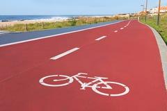De steegteken van fietsers Stock Foto's