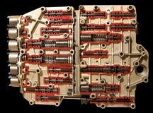 De lentekleppen en heftoestellen van de compressor royalty-vrije stock afbeelding
