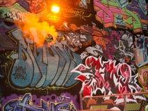 Onder Festival van Graffiti van de Druk 2012 - 3 Stock Foto's
