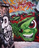 Onder Festival van Graffiti van de Druk 2012 - 2 Royalty-vrije Stock Foto's