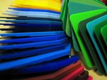 De steekproeven van de kleur Stock Afbeeldingen