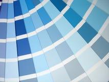 De steekproeven van de kleur Stock Foto's