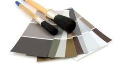 De steekproeven van de kleur voor het schilderen Royalty-vrije Stock Afbeeldingen