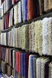De steekproeven van het tapijt Stock Afbeelding