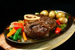 De steel van het rundvlees Stock Afbeeldingen
