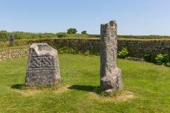 De Steen Bodmin van koningsDoniert ` s legt Cornwall Engeland vast Royalty-vrije Stock Foto's