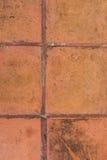 De steen van de achtergrond tegeltextuur sinaasappel Royalty-vrije Stock Afbeelding