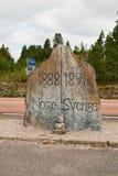 De steen van de grens Royalty-vrije Stock Foto