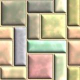 De steen van de kleur vector illustratie