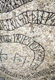 De steen van de rune stock afbeeldingen