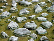 De steen van de stap Stock Afbeeldingen