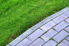 De steen van de tuin Stock Foto's