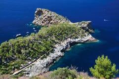 De steen van Gappy - Mallorca Royalty-vrije Stock Foto's