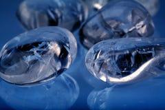 De steen van het glas Stock Foto's