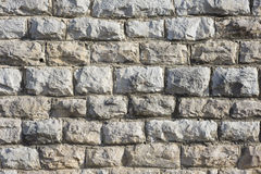 De Steen van het metselwerk of Bakstenen muur stock afbeelding