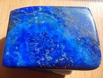 De steen van lapis lazuli Stock Fotografie