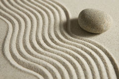 De steen van Zen Royalty-vrije Stock Foto