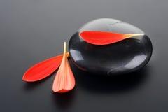 De Steen van Zen van het kuuroord Stock Afbeeldingen