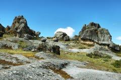 De steenbos van Hatunmachay in Ancash Peru Stock Afbeeldingen
