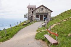 De steenbouw, zet Rigi, Zwitserland op Royalty-vrije Stock Fotografie