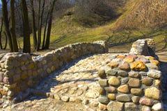 De steenbrug Royalty-vrije Stock Afbeelding