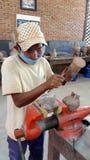 De steengravure, Siem oogst, Kambodja Stock Afbeeldingen