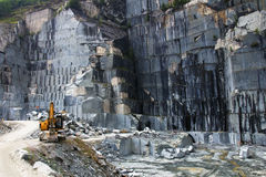 De steengroeve van het graniet Royalty-vrije Stock Afbeelding