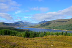 Loch Loyne, Schotland Royalty-vrije Stock Fotografie