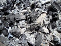 De steenkooltextuur Stock Fotografie