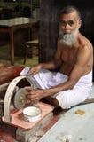 De steenmijnen van gemmen in Galle, Sri Lanka stock foto's