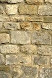 De steenmuur van de kerk Royalty-vrije Stock Foto's