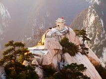 De steenpagode van Huashan stock afbeeldingen