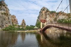 De steenpark van Hinkhao Ngu royalty-vrije stock foto's
