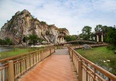 De steenpark van Hinkhao Ngu stock fotografie