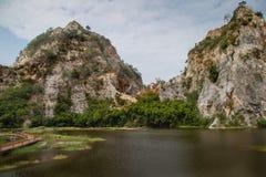 De steenpark van Hinkhao Ngu stock foto