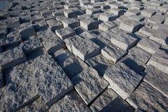 De steenstraat van de baksteen Stock Foto's
