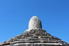 De steentegels structureren hoogste Kazun Stock Fotografie