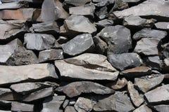 De steentextuur van het basalt stock afbeeldingen