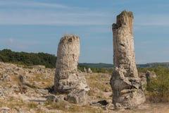 De Steenwoestijn (Pobiti-kamani) dichtbij Varna, Bulgarije Royalty-vrije Stock Afbeelding