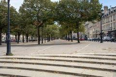 De stegen van Tourny in het stadscentrum van Bordeaux, Frankrijk royalty-vrije stock foto
