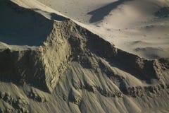 de steile helling van de berg Stock Foto