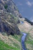 De Steile rotsen van Salisbury stock foto