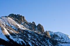 De Steile rotsenvorming, Noordelijk Colorado stock fotografie