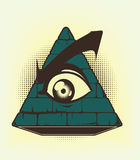 De stem vóór van de piramide Stock Foto