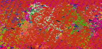 De stemming van de herfst Vele roze en magenta asters Stock Afbeeldingen
