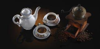De stemming van de koffie Stock Afbeelding