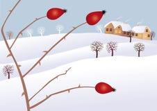De stemming van de winter royalty-vrije illustratie