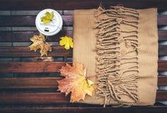 De stemming van de herfst Vele roze en magenta asters stock fotografie