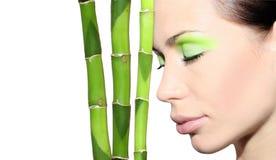 De Stemming van het bamboe Royalty-vrije Stock Foto